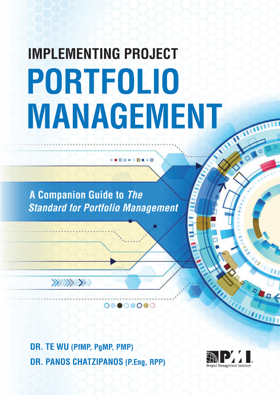Book cover: Implement Project Portfolio Management